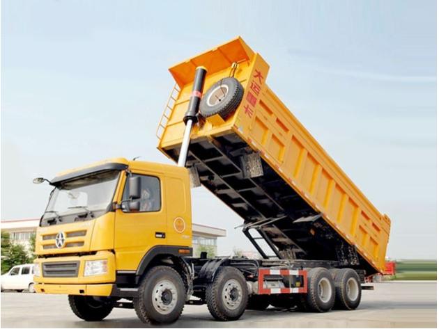 鼎泰液压油缸装载货车车辆机械应用